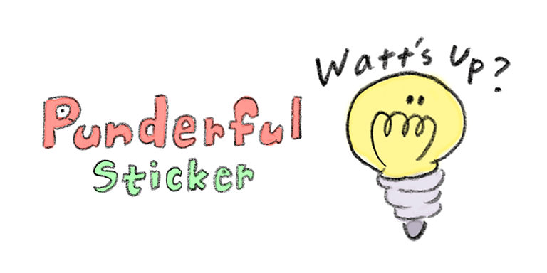 Punderful Stickers